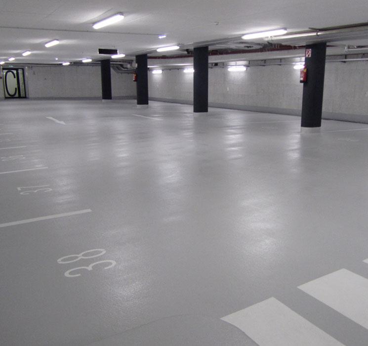 Garagen Hebebuhne Malerei : Garagen industrieböden malerei hirsch